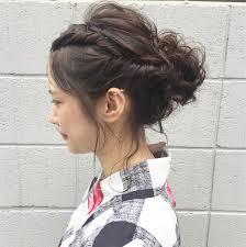 浴衣に合うヘアセット法浴衣美人は髪型でつくる Hair