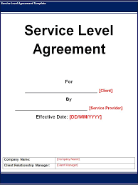 help desk service level agreement template service level agreement template best word templates