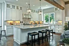 long kitchen island kitchen island with sink and hob
