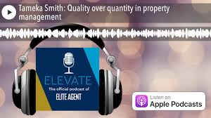 Tameka Smith: Quality over quantity in property management - YouTube