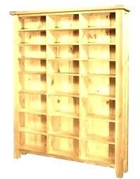 cd cabinet storage cabinets wood wooden adjule book shelf white holders for media with glass doors