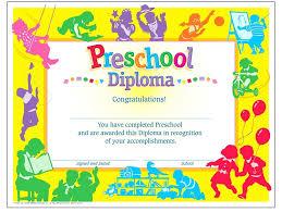 Printable Certificates For Preschool Graduation Download Them Or Print