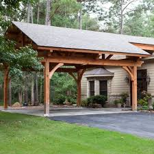 Attached Carport Plans  MyOutdoorPlans  Free Woodworking Plans Attached Carport Designs