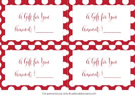 Holiday Gift Card Template Christmas Gift Card Printable Printable Coloring Page For Kids