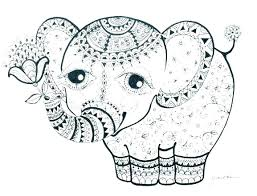 cute coloring pages of elephants elephants coloring pages coloring pages elephant baby elephant coloring pages print