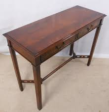 antique console table. Mahogany Console Table In Antique Georgian Style - SOLD