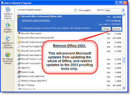 Office 2003 Office 2003 Proofing Tools