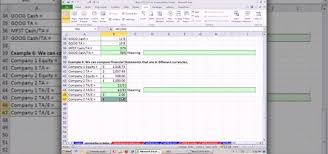 Financial Analysis Of Microsoft How To Perform Basic Financial Ratio Analysis In Microsoft Office