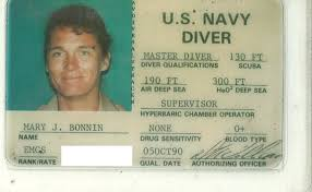 Bonnin Master In Diver Woman First The Am s Ama Iama U Mary Navy I