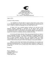 Sample Teacher Recommendation Letter Best Cover Letter Sample Teacher Principal Cover Letter Principal Cover