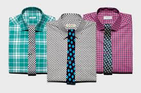 Pattern Shirt With Pattern Tie Cool Decoration