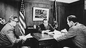 Nixon office Hush Money Secretary Of State Henry Kissinger President Nixon And Gen Alexander Haig Meet At Camp Cnncom Documents Combative Nixon Defended Legacy To Grand Jury Cnnpolitics