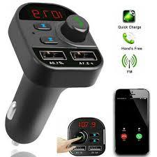 <b>Bluetooth</b> FM Transmitter <b>Car</b> Mp3 Player Auto <b>USB Charger</b> KFZ ...