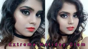 extreme holiday glam transformation clic makeup tutorial
