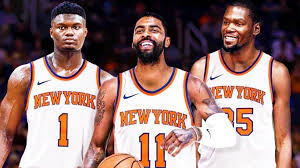 Bape, supreme, louis vuitton, sportcheck, nba, adidas Nets Trolling Knicks With Kyrie Irving Jersey Giveaway At Barclays How Could You Think That Netsdaily