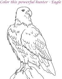 bald eagle coloring page with eagle coloring pages bald eagle coloring pages for kids printable archives best on printable coloring picture of an eagle