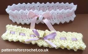 Crochet Baby Headband Pattern New Baby Headbands FREE Crochet Patterns