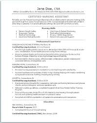 Nursing Assistant Cover Letter Interesting Cna Cover Letter Example Letter Of Recommendation For Position With