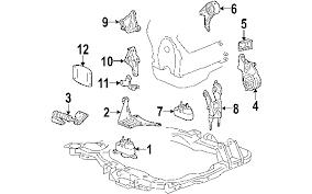 parts com® chevrolet bu engine mounting oem parts 2005 chevrolet bu maxx lt v6 3 5 liter gas engine mounting