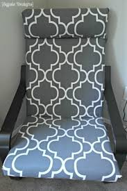 diy ikea poang chair cover a prudent life