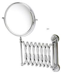 AssistData Wall Mounted Bathroom Shaving Mirror Extending Arm