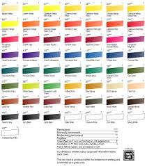 Georgian Color Chart