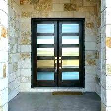 double glass front entry doors modern glass entry door glass front door modern double front doors