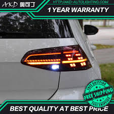 Light Angel Troubleshooting Akd Tuning Cars Tail Lights For Vw Golf 7 Golf Mk7 Golf 7 5