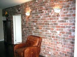 fake brick wall panels whitewash faux cool interior and ideas about walls on home design white