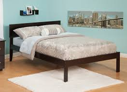 Orlando Bedroom Furniture Orlando Platform Bed Open Footrail Antique Walnut Beds Af