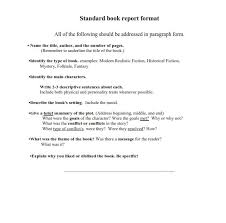 Book Report Outline College Level Quickest Way To Learn How To Write A Book Report