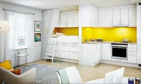Yellow Kitchen White Cabinets Unusual Kitchens Design Ideas In Modern Contemporary Home