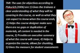 What Makes Up An Effective Lesson Plan: Part 03 Writing Objectives ...