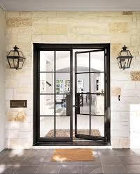 black front door with glass best steel doors ideas on glass doors