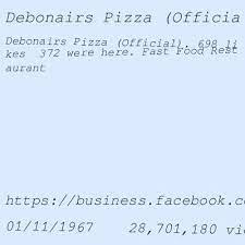 debonairs pizza cape