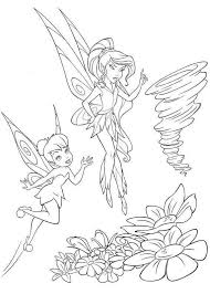 Tinker Bell And Vidia Coloring Page Kleurplaten Tinkerbell