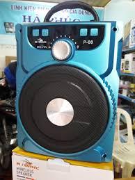 Loa Bluetooth karaoke P88 tặng kèm mic karaoke - P88, giá chỉ 285,000đ! Mua  ngay kẻo hết!