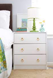 diy ikea rast dresser to bedside table