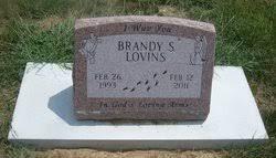 Brandy Sue Lovins (1993-2011) - Find A Grave Memorial