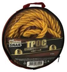 Канатный буксировочный <b>трос Golden Snail</b> GS 8232 4 м (<b>5 т</b> ...