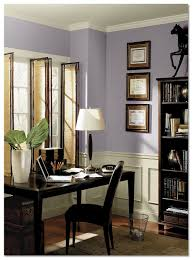 paint color for office. benjamin-moore-wisteria-home-office paint color for office