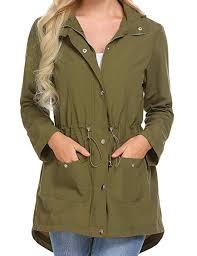 soteer womens casual lightweight waterproof rain jacket long sleeve hooded raincoat outerwear b07hd3753z