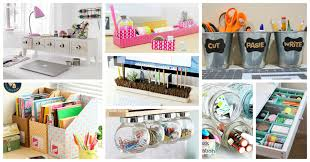 diy desk organizer ideas.  Ideas Desk Organizing Ideas On Easy And Simple Diy Organization That  You Will Like Throughout Organizer C