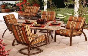 home depot outdoor patio chair cushions patio sets on resin wicker patio furniture diffe