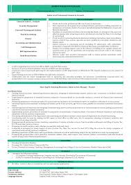 Chartered Accountant Resumes Chartered Accountant Resume Format Templates At