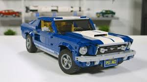Mustang Designer Lego Ford Mustang Gt 2019 Designer Review Video Full Lego Set 10265 Unboxing And Review