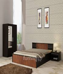 Mdf Bedroom Furniture Adegoke Mdf Hdf Bedroom Set King Size Bed Bedside Table