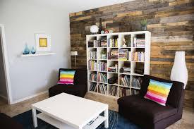 Living Room Bookshelves Decorations Enjoyable Living Room With Plaid White Laminated
