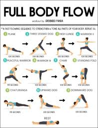 Flow Workout Chart 20 Minute Full Body Yoga Workout For Beginners Free Pdf
