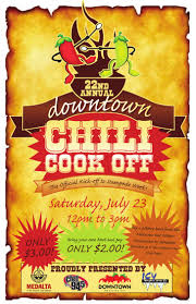 chili cook off poster. Brilliant Chili On Chili Cook Off Poster